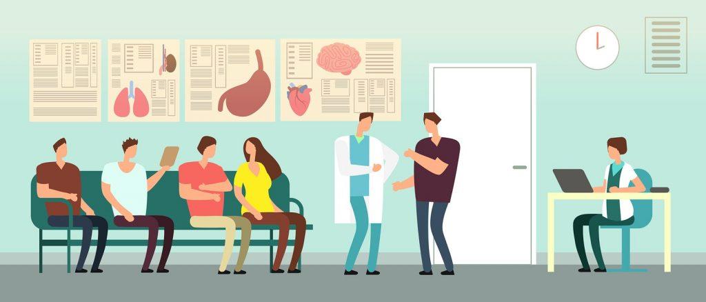 Ambiente acolhedor para a experiência do paciente.